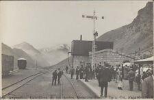 RAILWAYS CORDILLERA DE LOS ANDES ESTACION PUENTE INCA FAJARDO N° 6 REAL FOTO