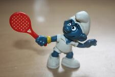 Tennis Smurf Peyo Schleich 1978 Hong Kong W.Berrie & Co 2.0049 Schtroumpfe Puffi