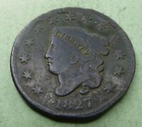 1827 Large Cent   #LC27