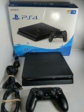 Sony PlayStation 4 Slim 1TB Console - Jet Black with Box