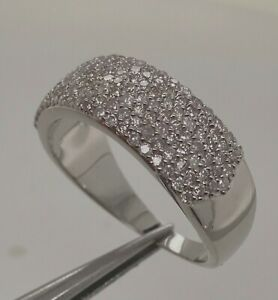 0.80Ct VS-I Argyle Mine Tint Pink Natural Diamond 925 Silver Ring Size 7.00