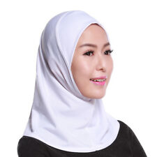 Muslim Women Under Scarf Hat Cap Islamic Prayer Ladies Neck Cover Hijab Headwear