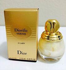 DIORIFIC Vernis by Christian Dior Nail Polish 011 LADY 0.40 oz/12 ml New in Box