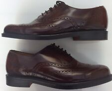Greenwoods Uk8 Eu42 Brown Leather Brogues Wing Tip Vintage Classic Gents Shoes