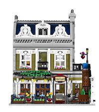 Parisian Restaurant Street View Modular Building Blocks 2418 Pcs - MOC 10243 DHL