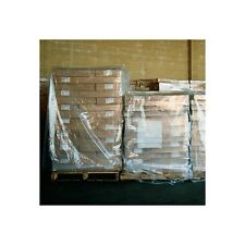 Pallet Covers, 1 Mil, 54x52x60, Clear, 100 Per Case
