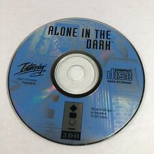 NICE Alone in the Dark (3DO, 1994) Disc Only Tested Working