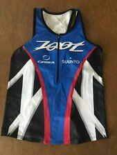 Zoot women's tri team race singlet size M