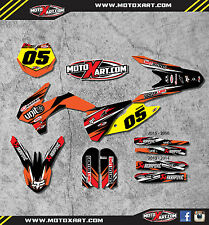 KTM 85 2013 - 2014 Full  Custom Graphic  Kit - DIGGER STYLE decals stickers