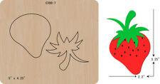 New strawberry Wooden die Scrapbooking Cutting Dies C-398-7