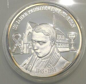 Medaille 999 Silber 150 Jahre Priesterweihe Köln 1995