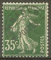 """FRANCE STAMP TIMBRE PREOBLITERE YVERT N° 63 """" SEMEUSE 35c VERT """" NEUF xx TTB D71"""