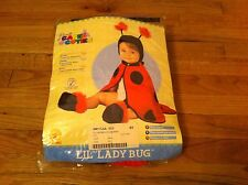 Rubie's Caped Cuties brand Lil Ladybug Halloween costume 3-12 Month Baby Toddler
