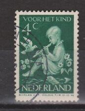NVPH Netherlands Nederland 315 used 1938 kinderzegels Pays Bas