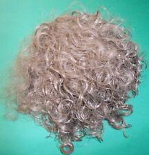 Haarteil/Verlängerung mit Haarklammer dunkelbraun gelockt