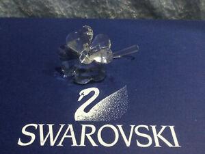 Swarovski Crystal Four Leaf Clover 7483000001 212101. Retired 2012. MIB