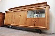 Vintage Retro Hand Made Mid Century Teak Danish Veneer Sideboard - 250