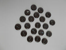 10 x Fish Eye Buttons Fish Eye Baby Buttons 16mm 22 Shades /& Combined Postage