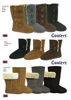 Coolers Ladies Womans  Microsuede Boots