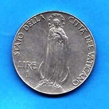 VATICANO VATIKAN VATICAN - 1941 -     1 lira - KM 26 a - Pius XII        XF-