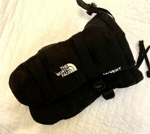 Black Youth The North Face Hyvent Ski Mittens Gloves Size Medium