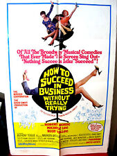 How to Succeed in Business Without Really Trying G-VG.Orig.US 27x41 movie poster