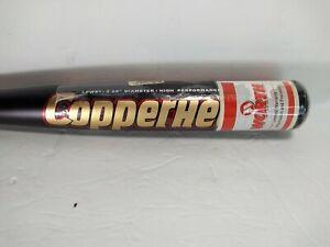 Worth Copperhead Youth Baseball Bat -8  30 Inch 22 Ounce LPW8T 2.25 Diameter