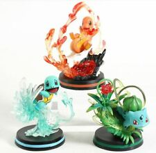 Monster Center Charmander Bulbasaur Squirtle Fight Version Pokemon Action Figure