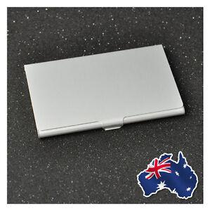 (COST PRICE!) Aluminium Metal Business Card Holder Case Credit ID