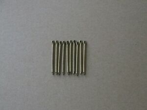 10 Brass Split Pins 2 x 46mm