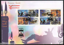 2016 FDC TRADITIONS CUSTOMS EDIFIL 5037 / 40  5037C SPD MEAT EASTER   TC20073