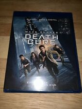 Brand New Maze Runner The Death Cure Blu-ray + DVD + Digital 2018