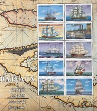 Burkina Faso- 1999 Boats Stamp Sheet of 10 MNH