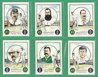 CECIL COURT - SET OF L 25 CRICKET CARDS  -  ASHES  WINNING  CAPTAINS  -  1993