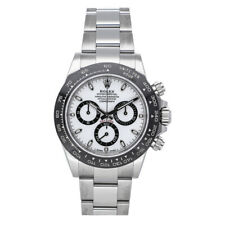 Rolex Daytona Auto 40mm Steel Mens Oyster Bracelet Watch Chronograph 116500LN
