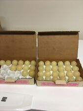 Vintage Home Interior Votive Candles Cream Colored 36 Total