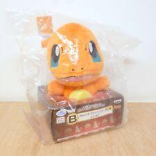 "Official Pokemon Banpresto 2013 Ichiban Kuji Charmander Plush Soft Toy Japan 6"""