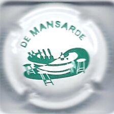 Capsule de champagne Herbert Didier : De Mansarde N° 187a Blanc