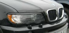 BMW x5 e53 eyebrows, headlight spoiler Genuine ABS plastic lightbrows eye lids