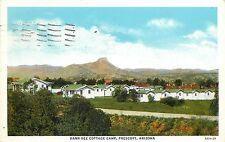 1930s Postcard; Dann-Dee Cottage Camp, Prescott AZ Yavapai County Posted