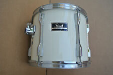 """ADD this 80s PEARL 12"""" EXPORT RACK TOM in WHITE to YOUR DRUM SET TODAY! #V833"""