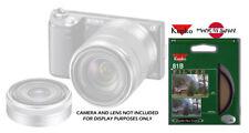 KENKO 81B 49MM WARMING FILTER FOR SONY NEX-3 NEX-5 NEX-6 NEX-7 NEX-c3 18-55MM 16