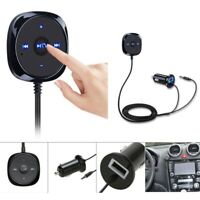 Bluetooth Receiver BT to Aux Adapter Car Audio Kit w/3.5mm Dongle USB Charger