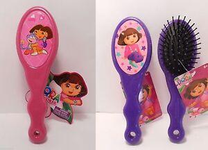 Hair Brush DORA THE EXPLORER Pink Purple - NEW