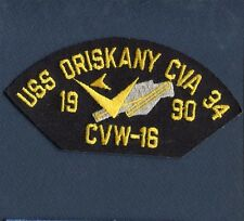 CVA-34 CV-34 ORISKANY CVW-16 US Navy NAVY Ship Squadron Hat Jacket Patch