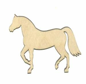 Show Horse Unfinished Wood Shape Cut Out S11112 Crafts Lindahl Woodcrafts