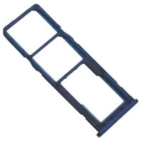 Dual SIM SD Tray For Samsung Galaxy M10 M105 Replacement Micro Card Blue UK