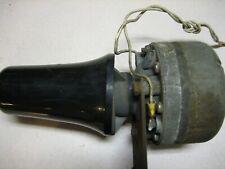 Fire/rescue horn/speaker Whalen 100 Watts (vintage & working) Price Reduced !