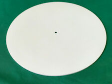 Silicone Rubber Turntable Mat 2mm Thick White