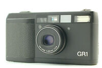 【MINT / LCD Works】 Ricoh GR1 Black Point & Shoot Film Camera From JAPAN